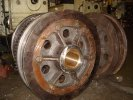 45 ton crane wheels (drivers and trailers)